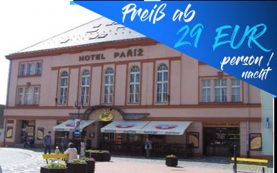Jičín – Hotel Paříž