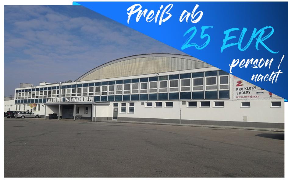 Ždár nad Sázavou – Hostel na Stadionu